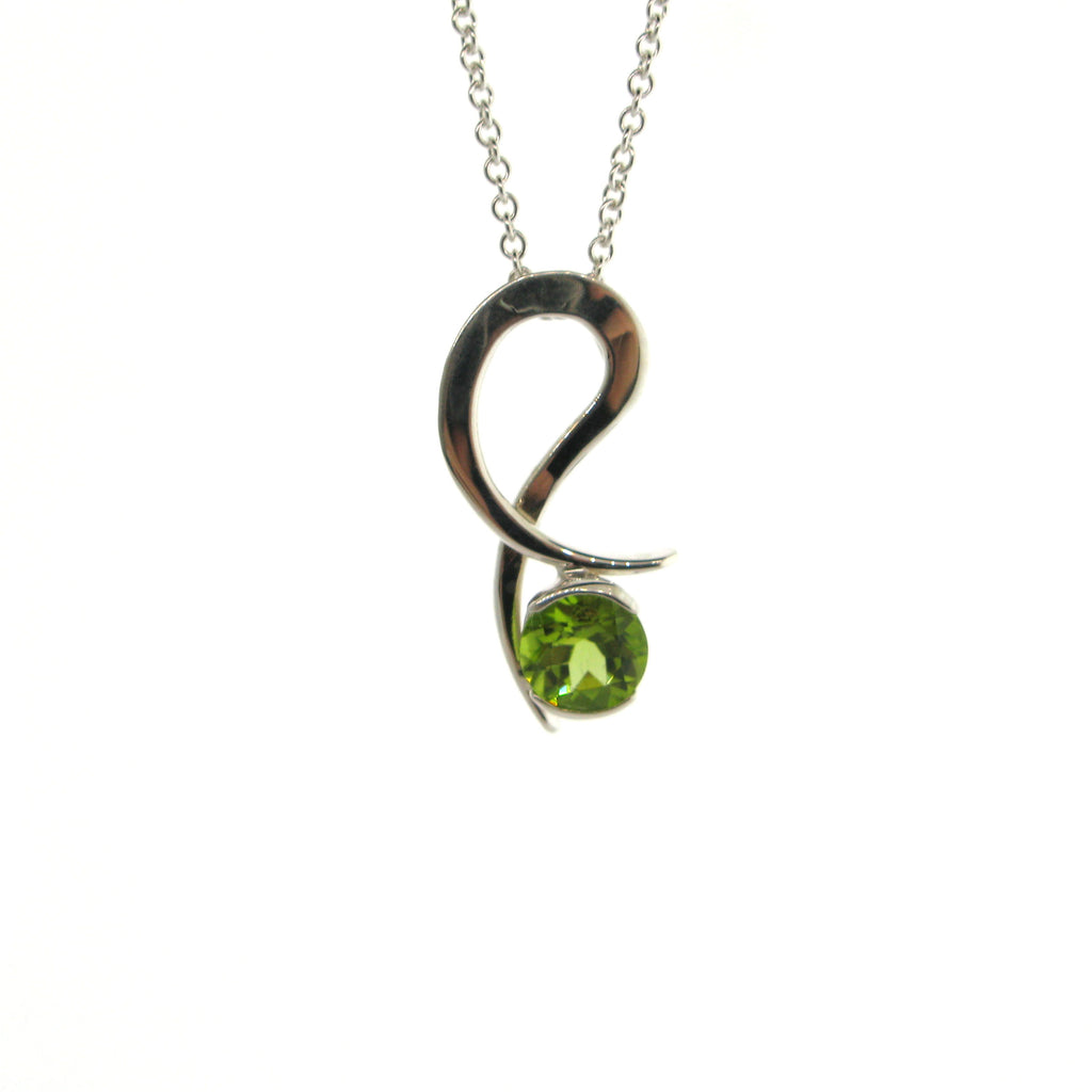 Peridot Dancing Necklace