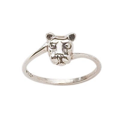 Lion Head By Pass Ladies Ring