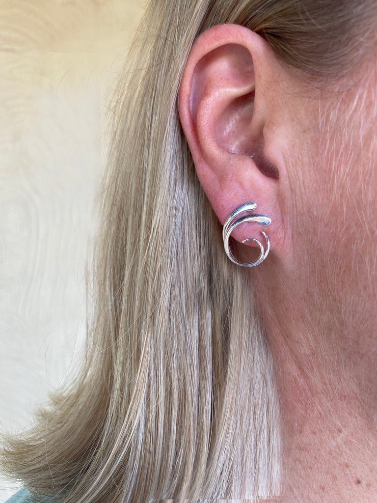 Four-Curl Earring