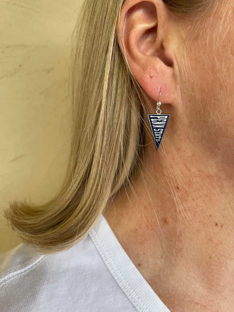 Penn State Pennant Earrings