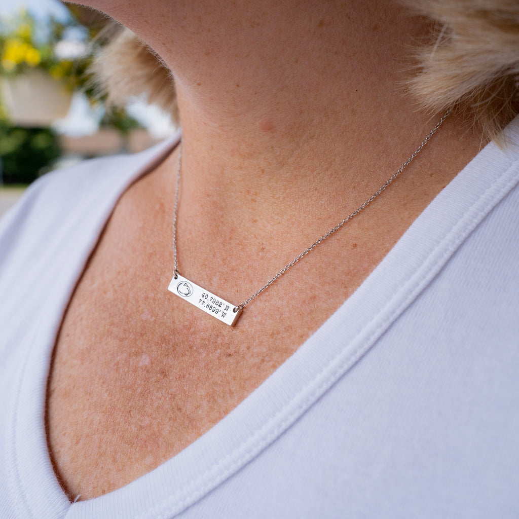 Penn State Coordinates Necklace