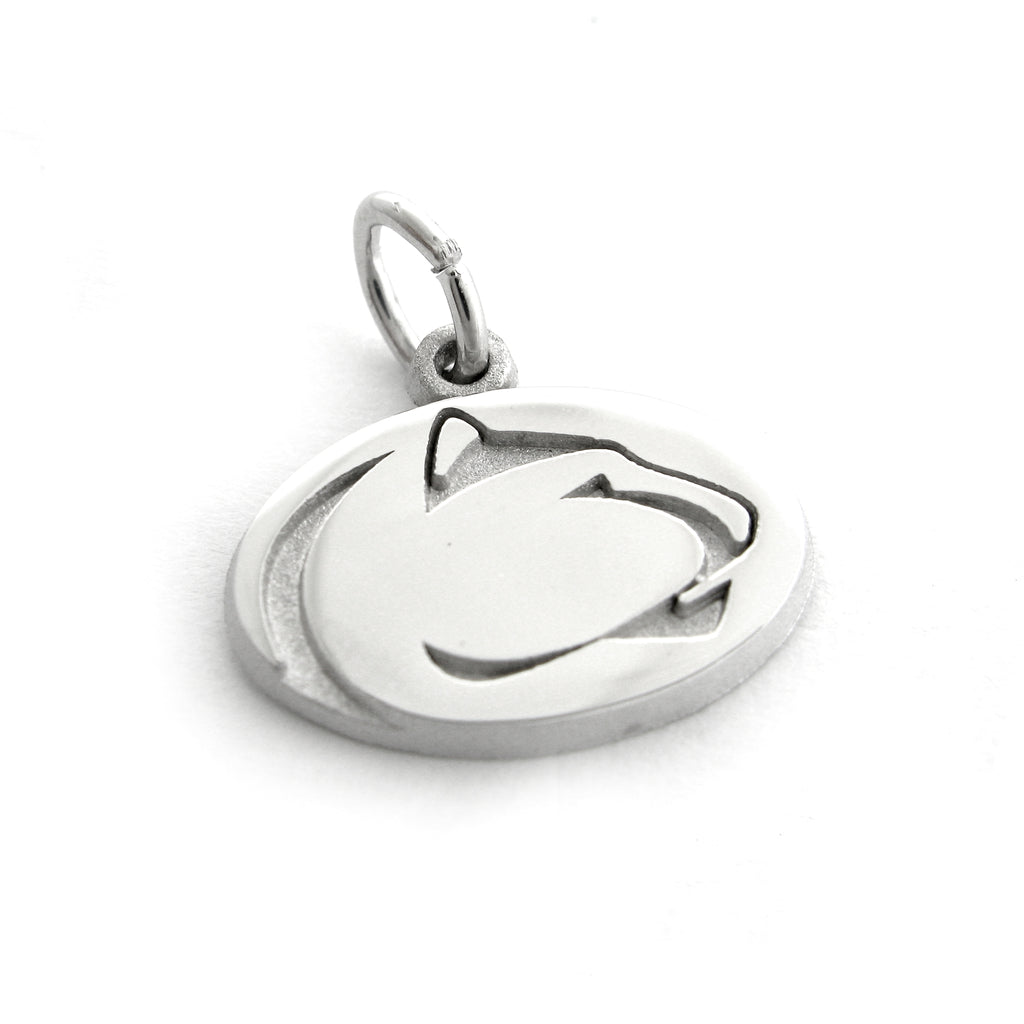 Sterling Silver Lion Logo Charm