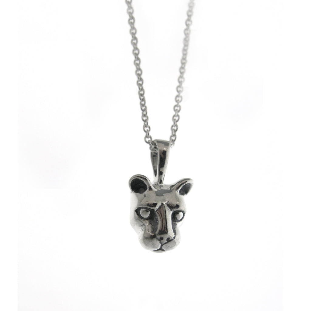 Large Nittany Lion Head Necklace
