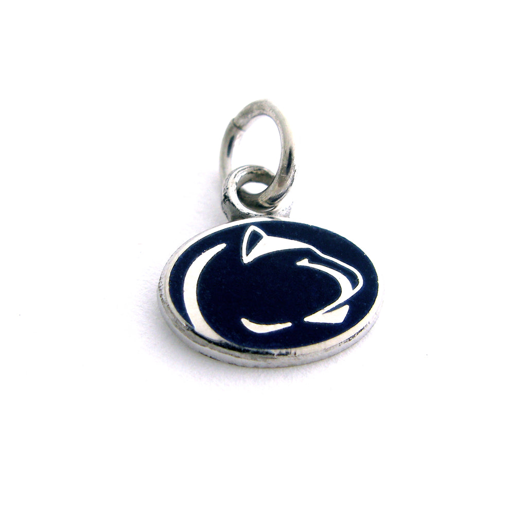 Blue Lion Logo Mini Charm