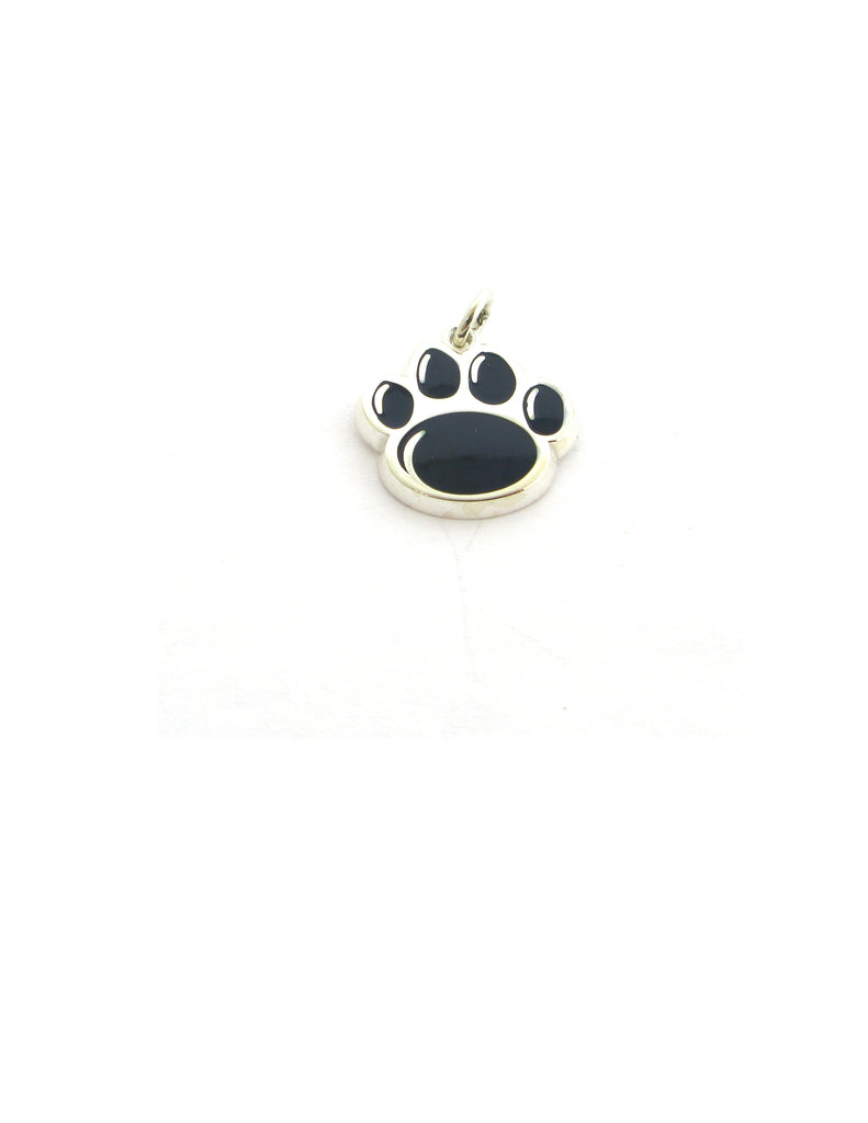 Official Blue Paw Print Charm