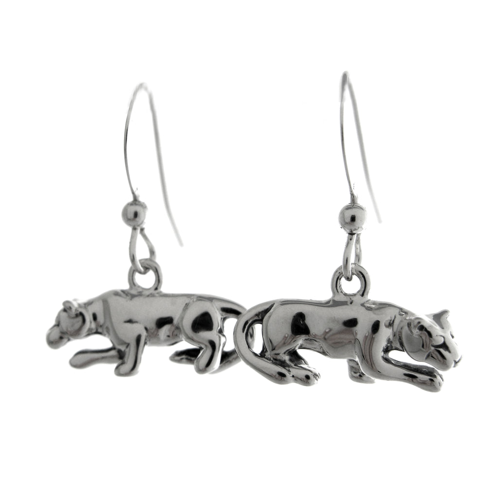 Nittany Lion Statue Dangle Earrings
