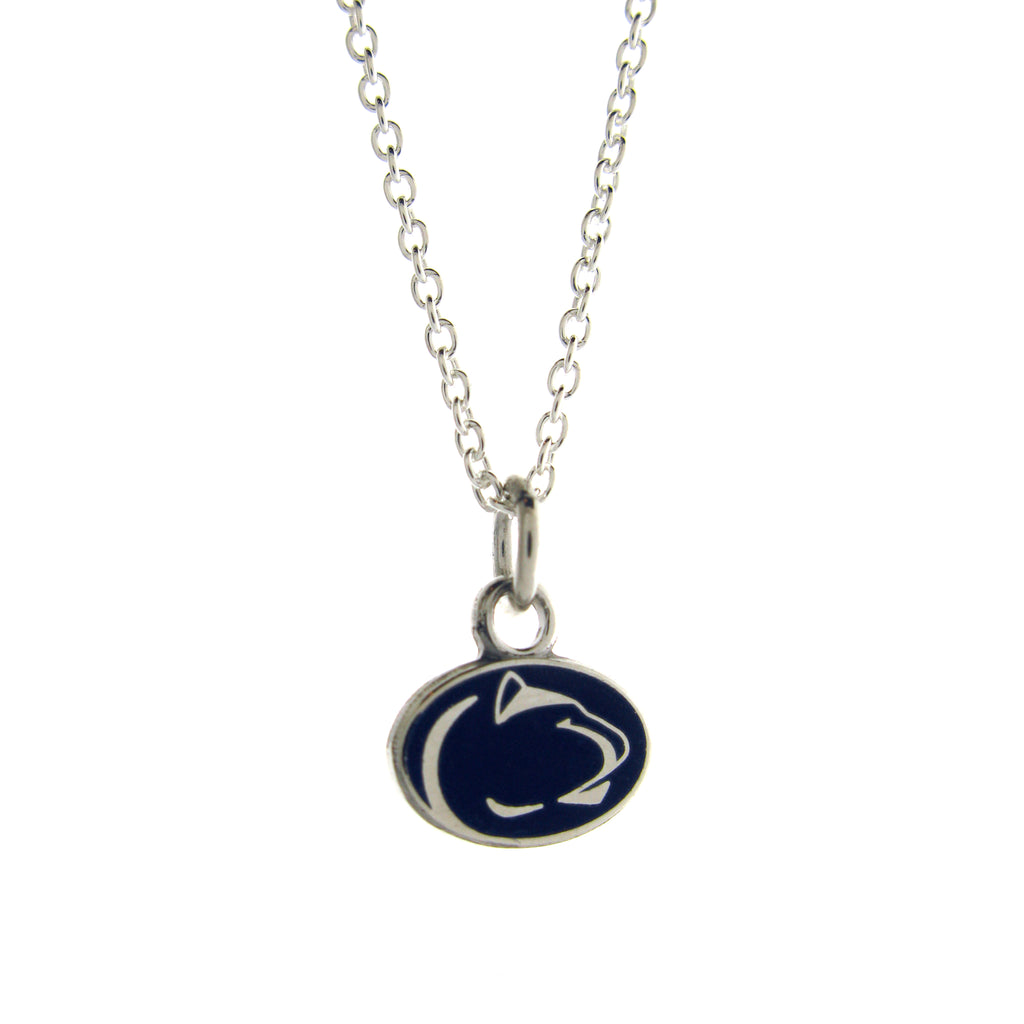 Blue Lion Logo Mini Necklace