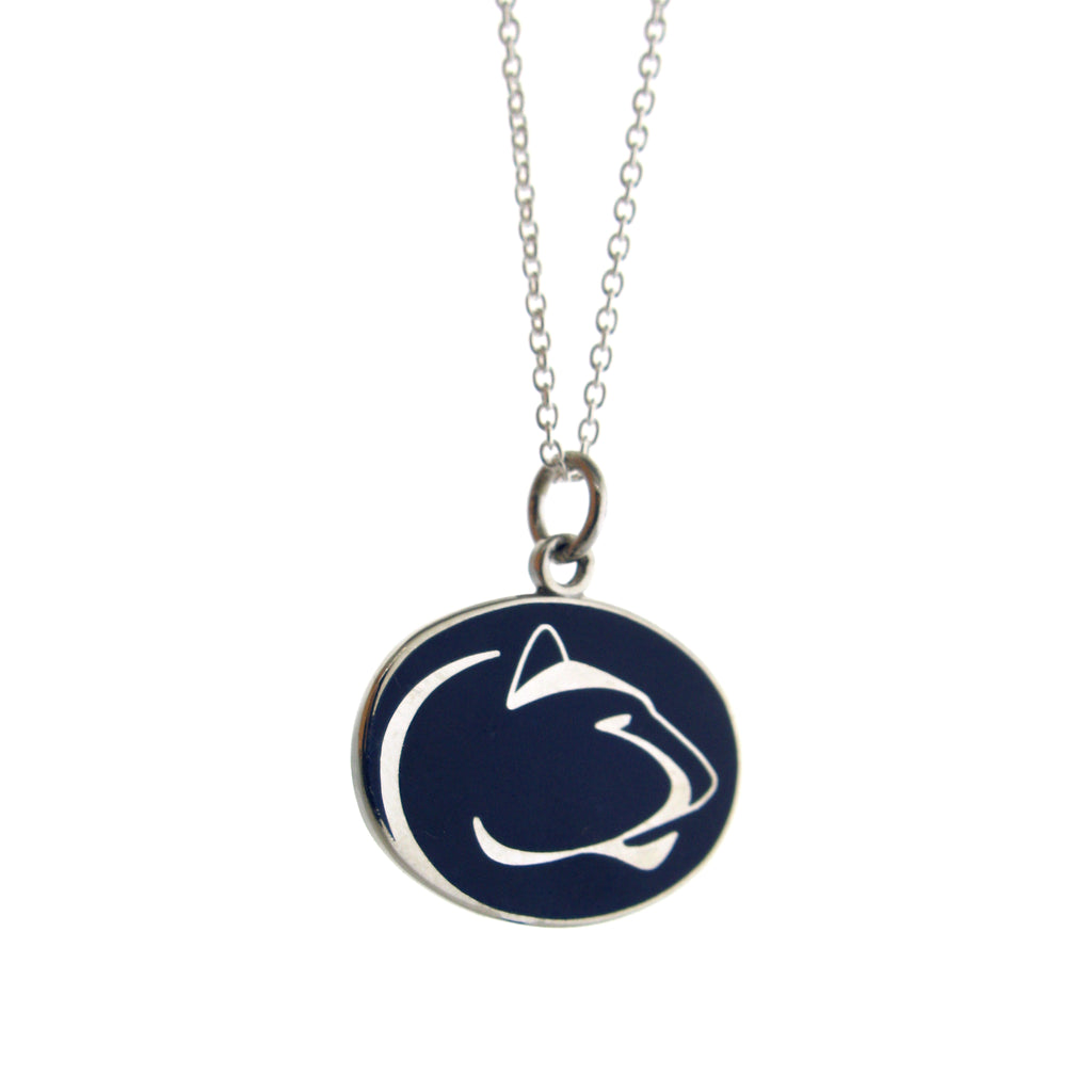 Blue Lion Logo Pendant