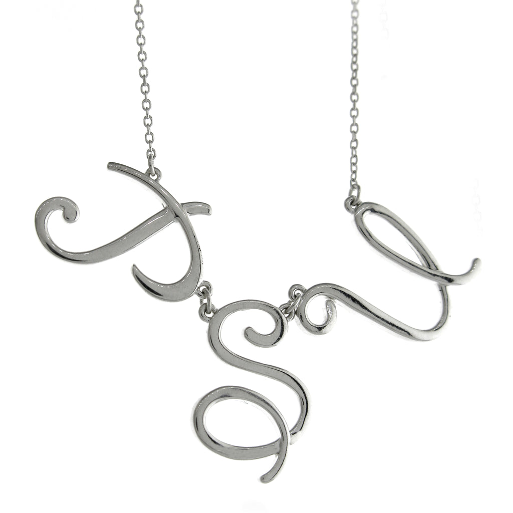 PSU Initials Necklace