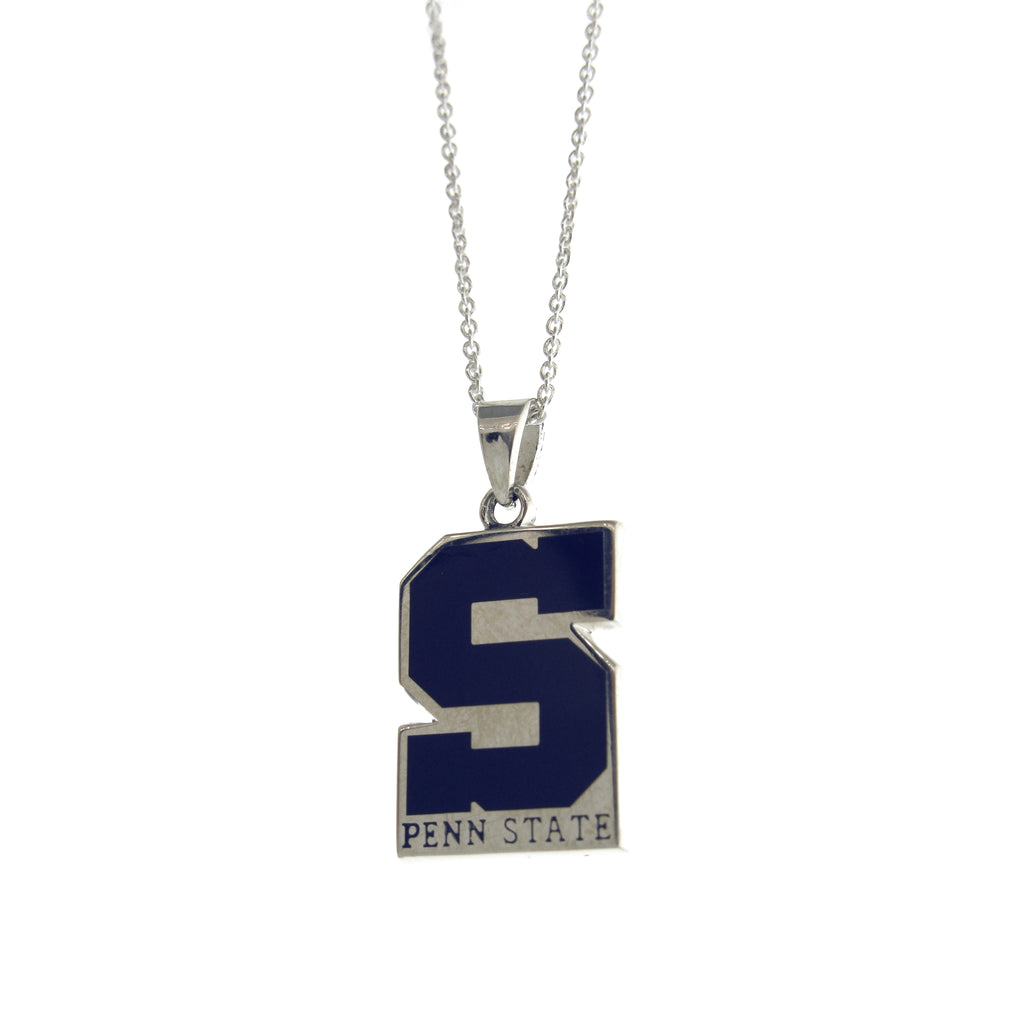 "Penn State ""S"" State Necklace"