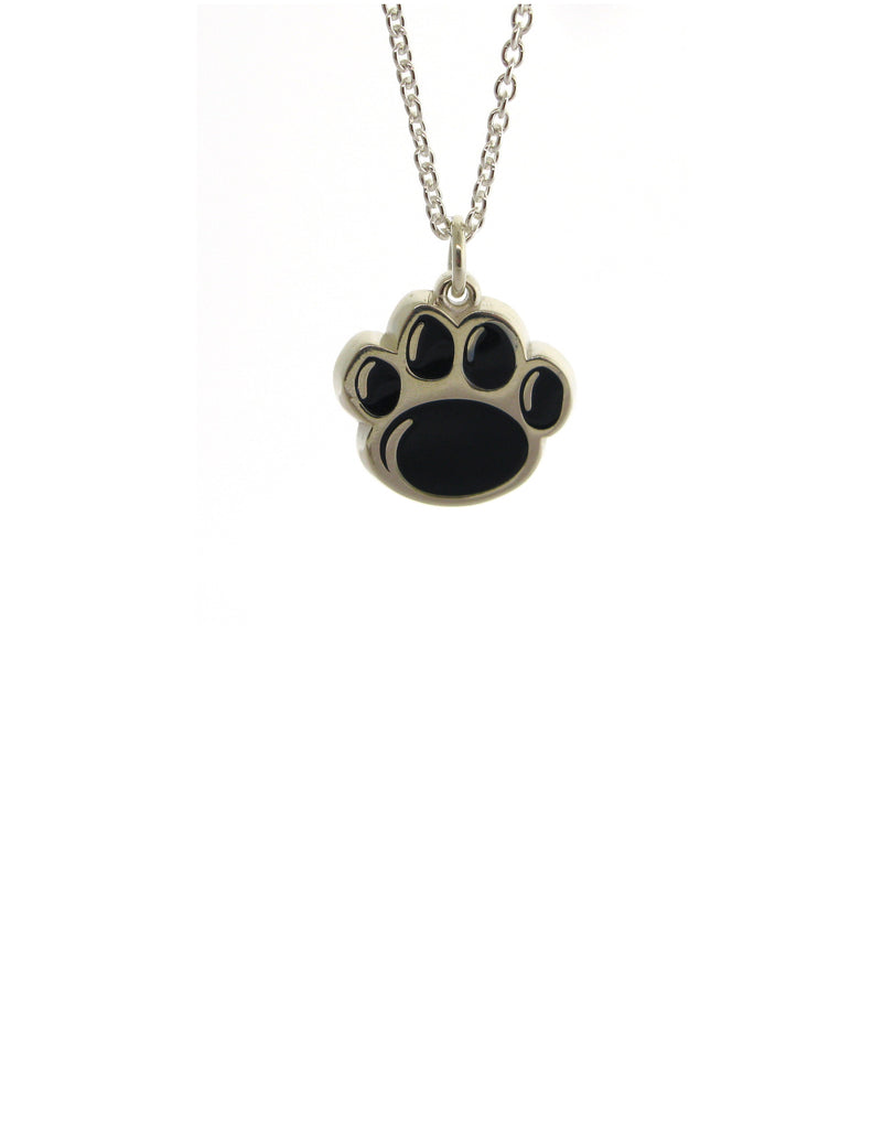 Official Blue Paw Print Necklace