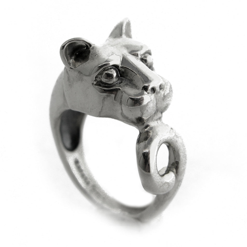 Penn State Lion Head Ring