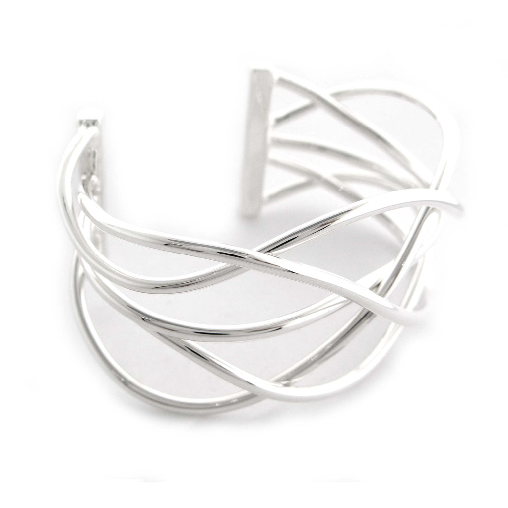 "Woven ""Wired"" Cuff by Zina"