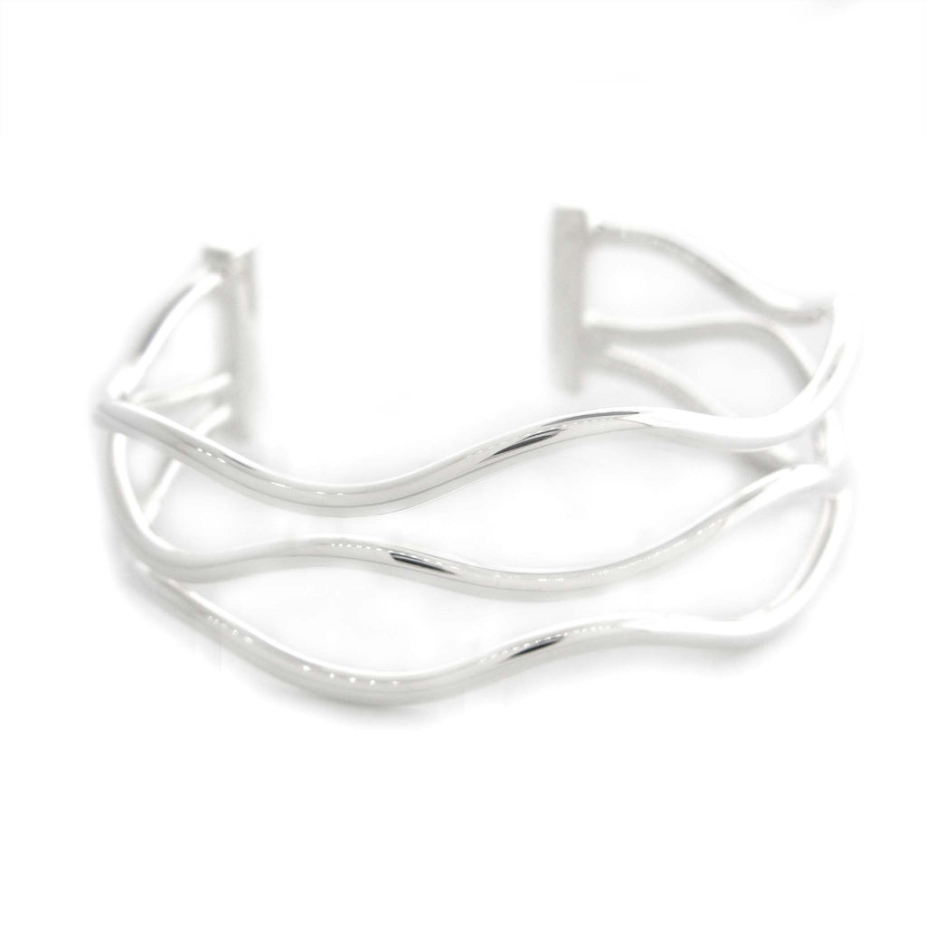 "Triple ""Wired"" Cuff by Zina"