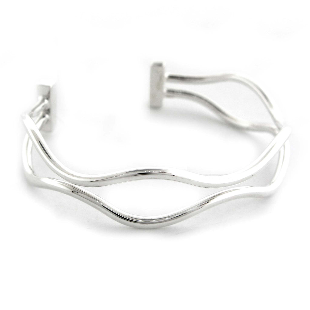 "Double ""Wired"" Cuff by Zina"
