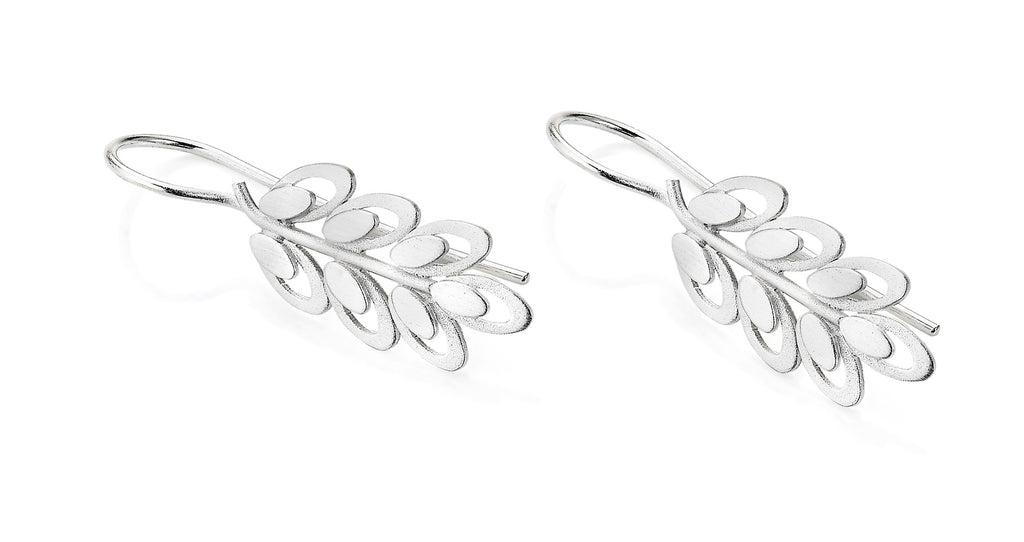 """Trellis Leaves"" Earring by Kelim"