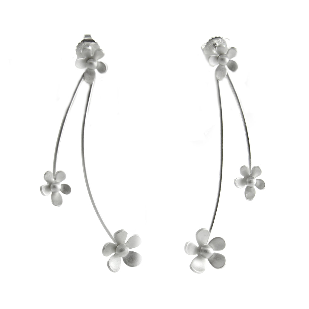 Kelim Flower Earrings