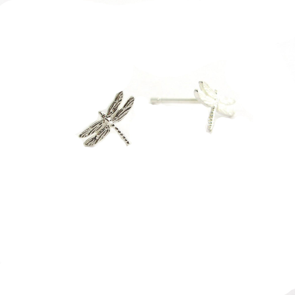 "Tiny Dragonfly ""Dream"" Earrings"