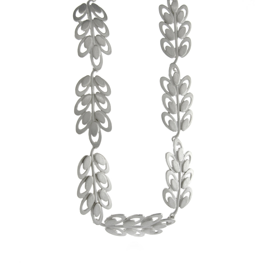 """Trellis Leaves"" Necklace by Kelim"