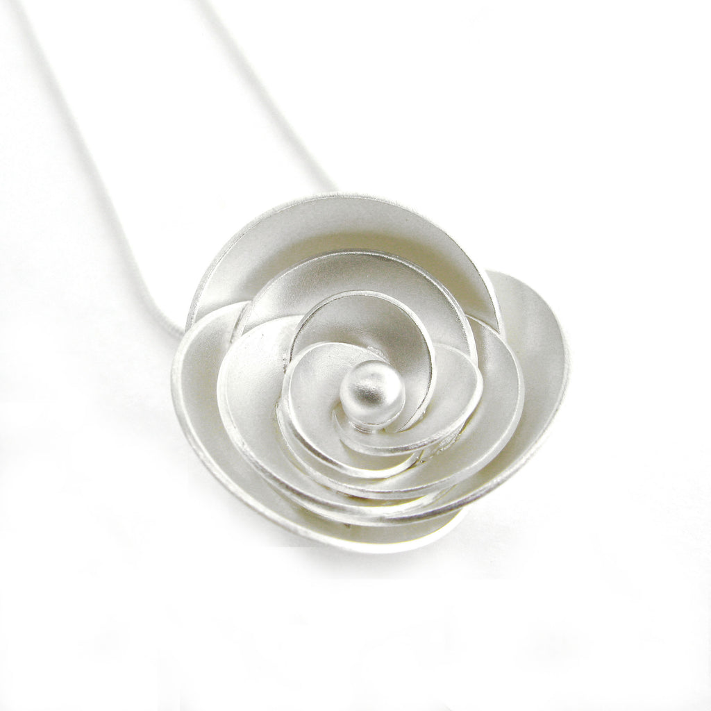 """Rose"" Necklace by Kelim"