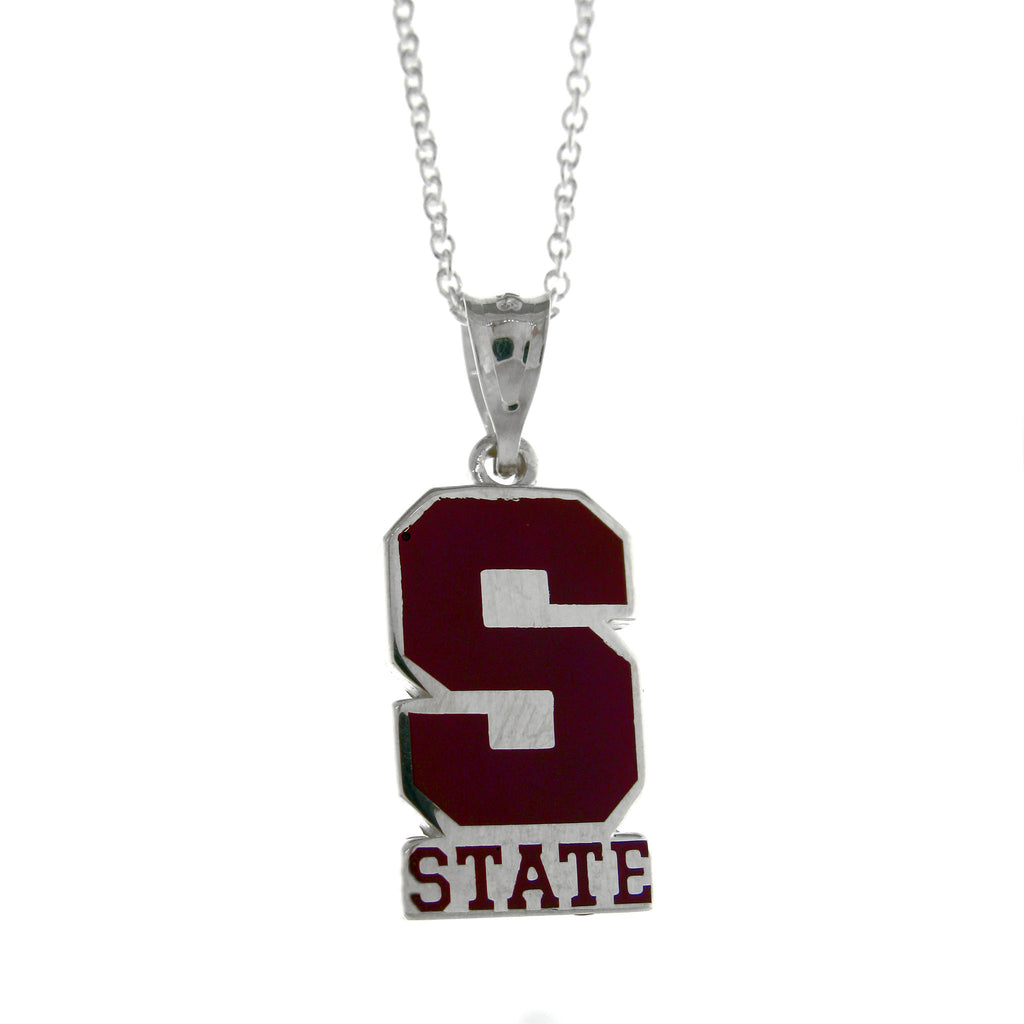 State College Block S Necklace