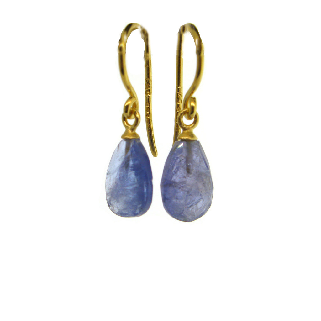 Faceted Tanzanite Earrings