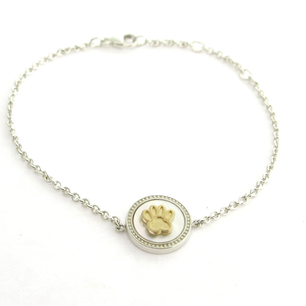 "Paw Print ""Dream"" Bracelet- 2T"