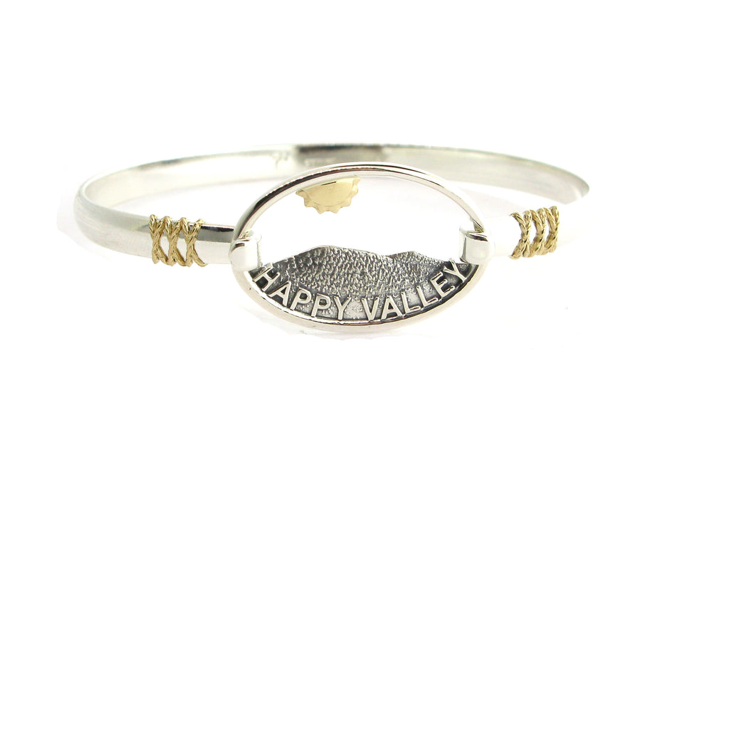 Happy Valley 2tone swap top on 2tone bangle complete