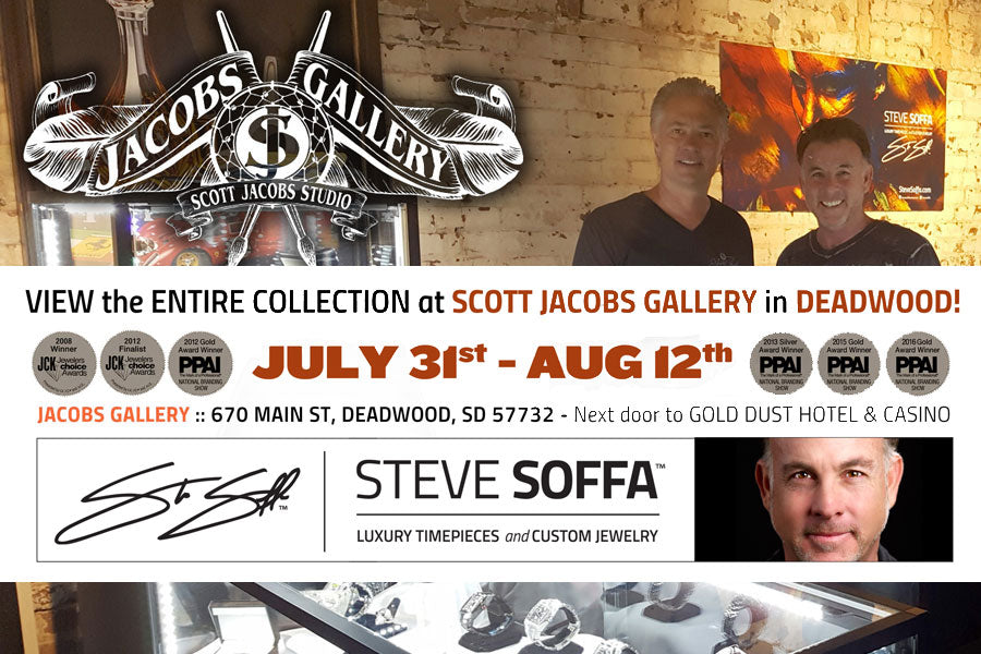 Steve Soffa at the Scott Jacobs Gallery in Deadwood Sturgis
