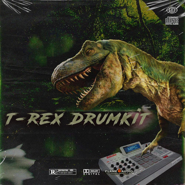 T-REX (Drum Kit) - studiotrapsounds