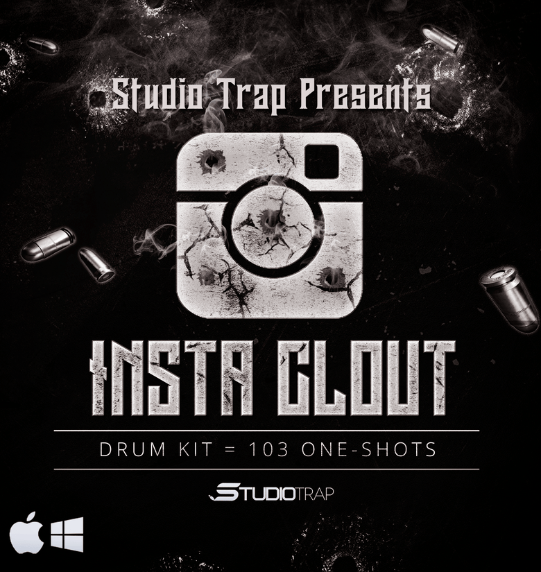 INSTA CLOUT (Drum Kit) - studiotrapsounds