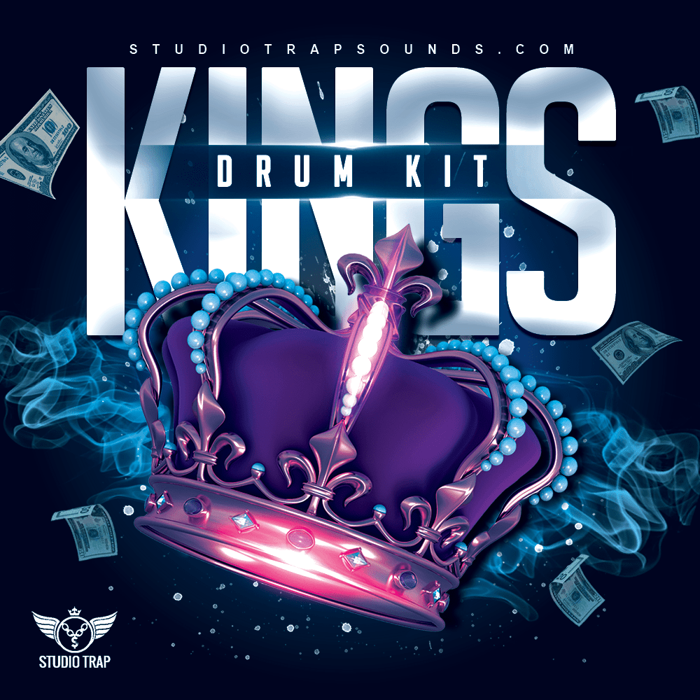 KINGS (Drum Kit) - studiotrapsounds (2178913960009)
