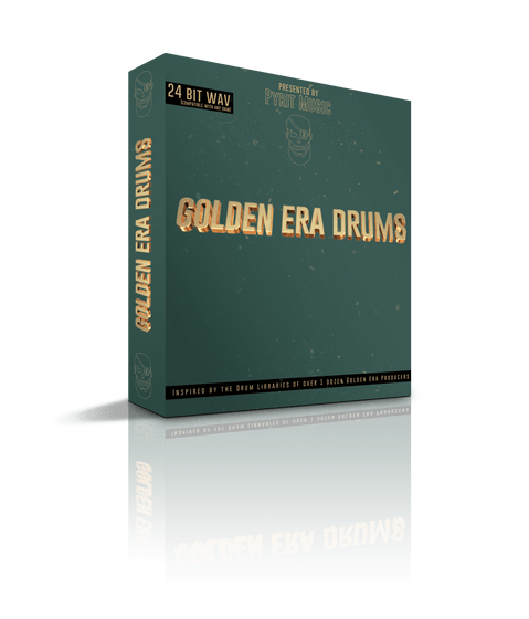 GOLDEN ERA DRUMS - studiotrapsounds