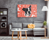 Christmas Special Custom Pet Print Rectangle Canvas deer