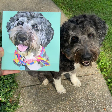 Custom Print Pet Canvas