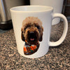 Custom Pet Print Coffee Mug White