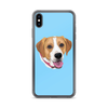 The Pets Print - Phone Case with Dog SkyBlue