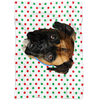 Special Background Pet Print Fleece Blanket