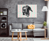 Christmas Special Custom Pet Print Rectangle Canvas Polka dots