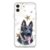 Christmas Special Pet Print iPhone Case Berries & Star