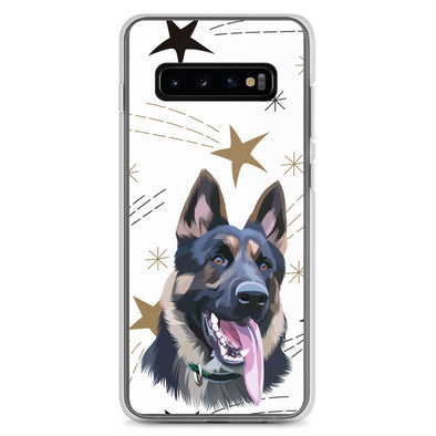 Christmas Special Pet Print Samsung Phone Case Berries & Star