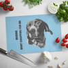 Custom Pet Print Glass Cutting Board