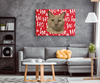 Christmas Special Custom Pet Print Rectangle Canvas HoHo