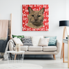 Christmas Special Custom Pet Print Canvas HoHo