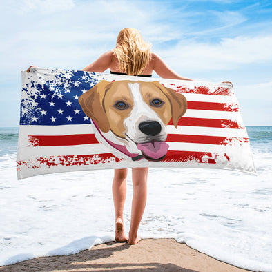 Independence Day Special Beach Towel