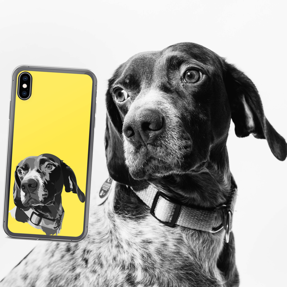 The Pets Print Custom Pet Print Phone Case with dog | dog portrait | Print your Pet