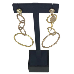 Earrings Infinity Triple