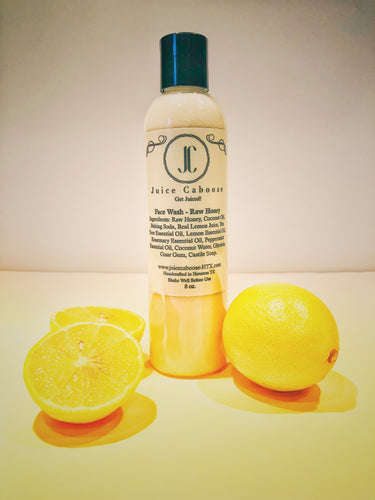 Raw Honey and Lemon Face wash