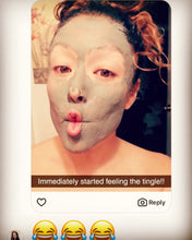 Load image into Gallery viewer, Face Mask - Charcoal Bentonite Clay