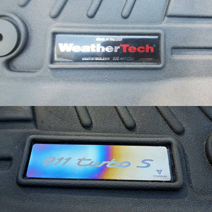 Weather Tech Custom badges